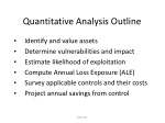 quantitative analysis outline