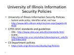 university of illinois information security policies