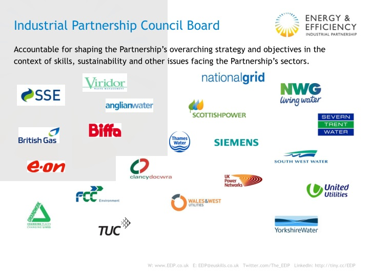 Industrial Partnership Council Board