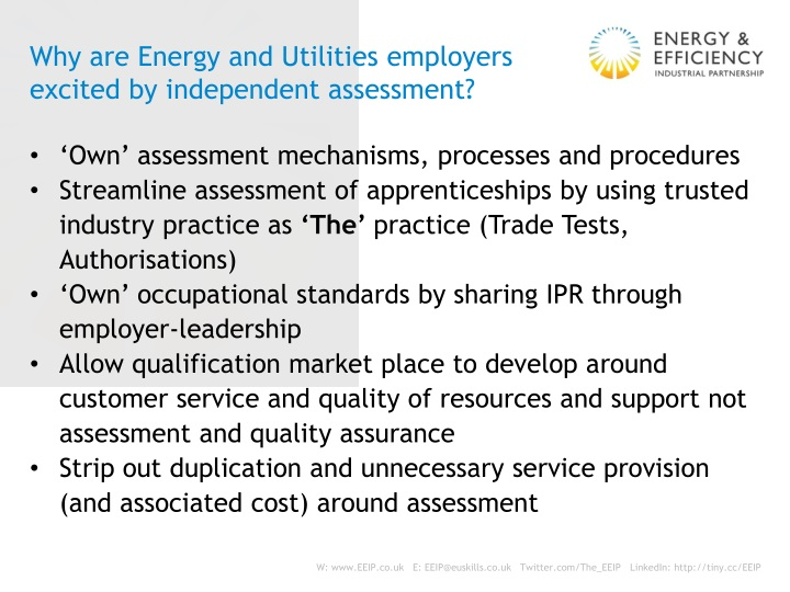 Why are Energy and Utilities employers excited by independent assessment?