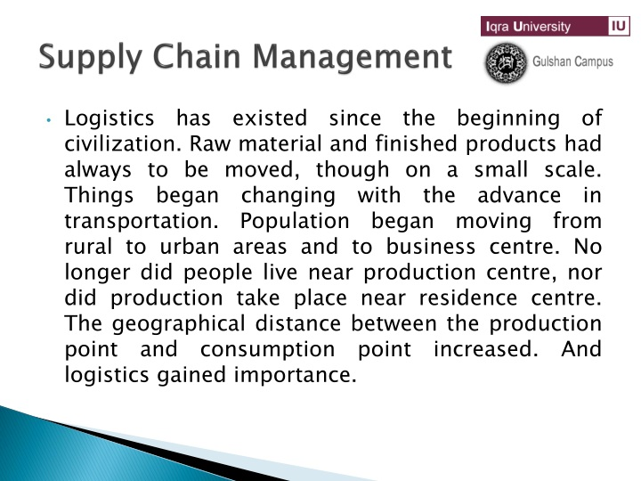 PPT - Supply Chain Management PowerPoint Presentation - ID:1509686