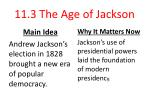 11 3 the age of jackson