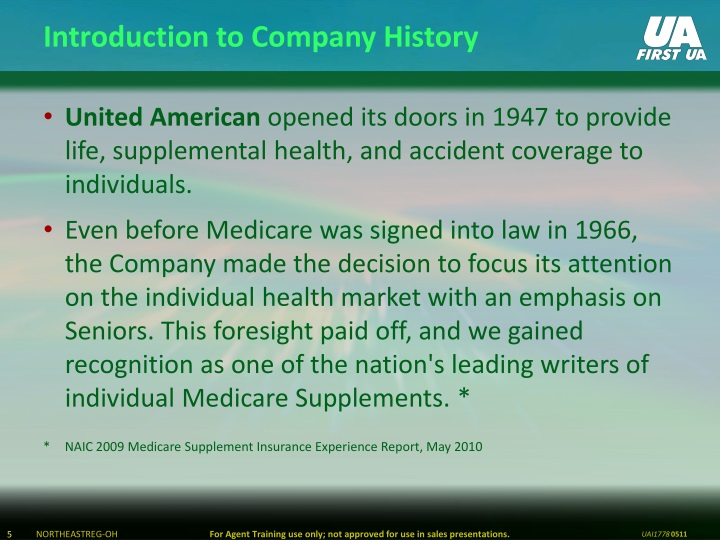Introduction to Company History
