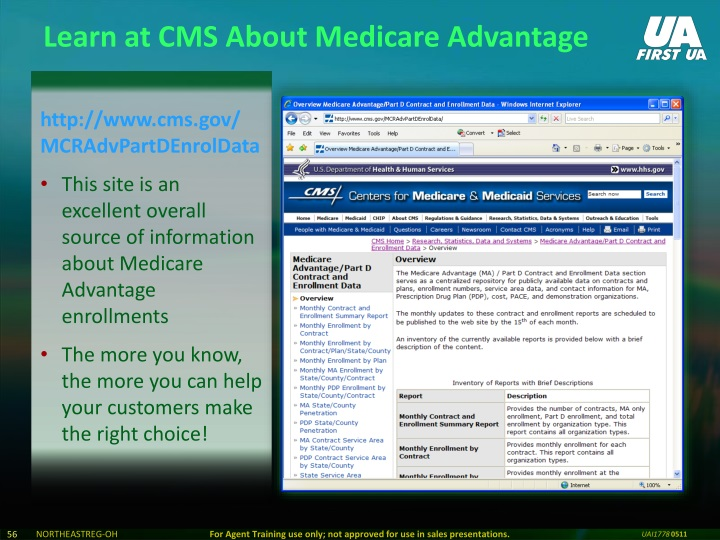 Learn at CMS About Medicare Advantage