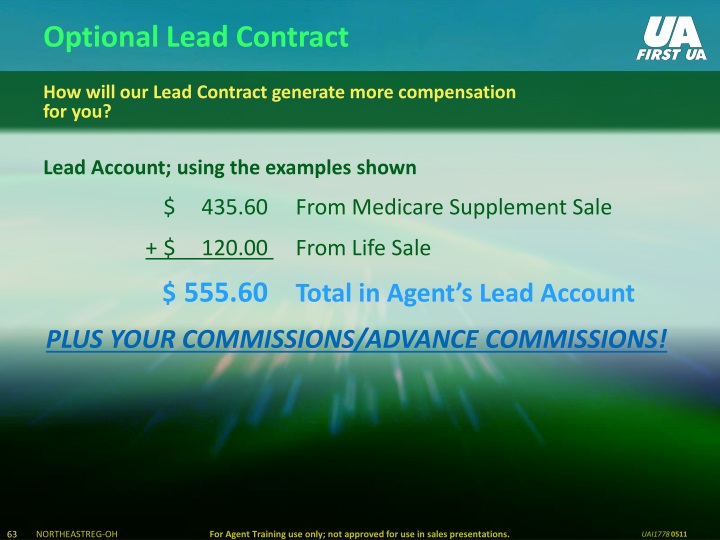 Optional Lead Contract
