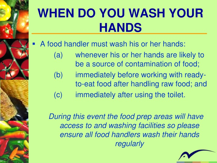 What Must Food Handlers Do When Handling Ready To Eat Food
