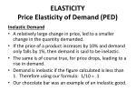 elasticity price elasticity of demand ped3
