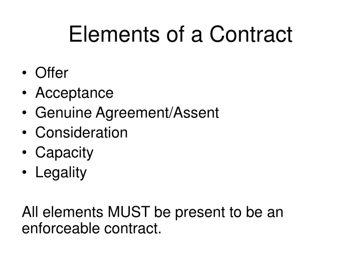 "offer and acceptance problem question Contracts – ""short essay"" question and answer ""rights of john & pete presuming an otherwise valid contract based on a valid offer, acceptance."