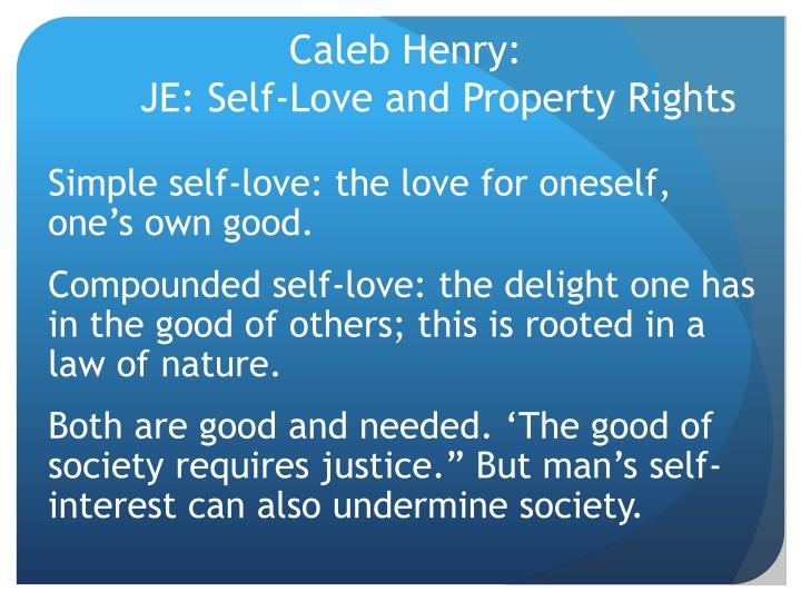Caleb Henry:
