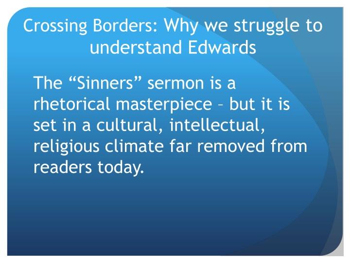 Crossing Borders: