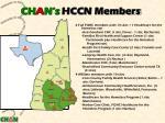 ch a n s hccn members