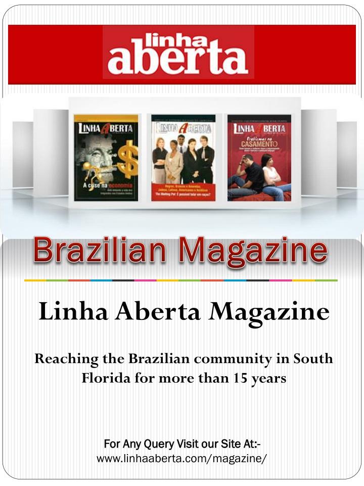 brazilian magazine n.