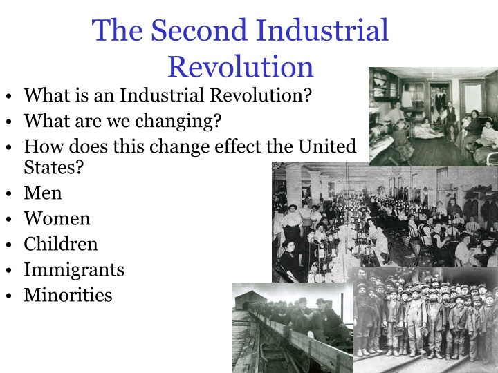 how did the industrial revolution change