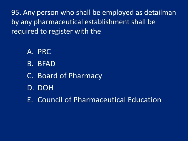 95. Any person who shall be employed as