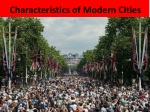 characteristics of modern cities