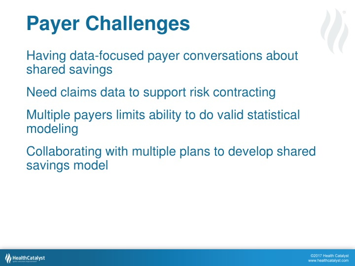 Payer Challenges
