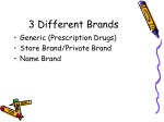 3 different brands