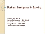 business intelligence in banking
