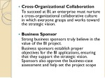 cross organizational collaboration to succeed