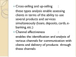 cross selling and up selling these types analysis