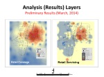 analysis results layers preliminary results march 2014