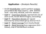 application analysis results