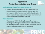appendix i the anti poverty working group