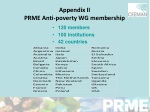 appendix ii prme anti poverty wg membership