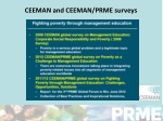 ceeman and ceeman prme surveys