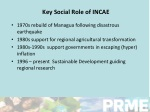 key social role of incae