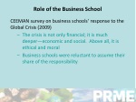role of the business school