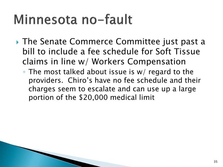 Minnesota no-fault