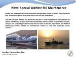 naval special warfare rib maintenance