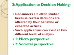 2 application to decision making