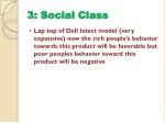 3 social class