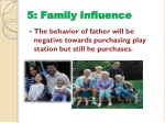 5 family influence