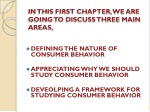 in this first chapter we are going to discuss three main areas