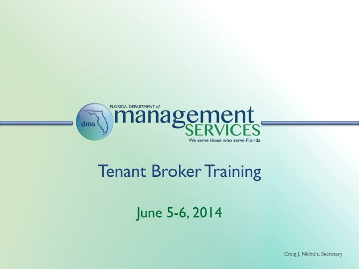 tenant broker training n.