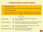 1 deterministic trend analysis