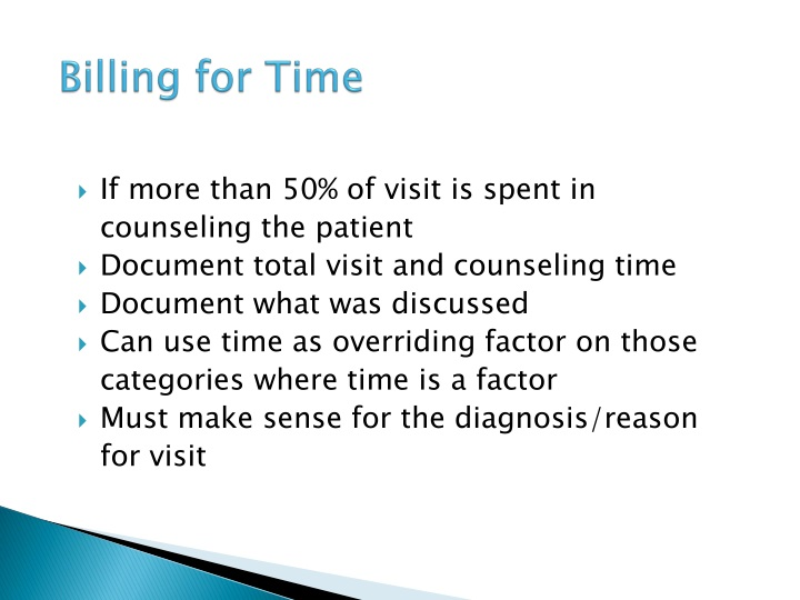 Billing for Time