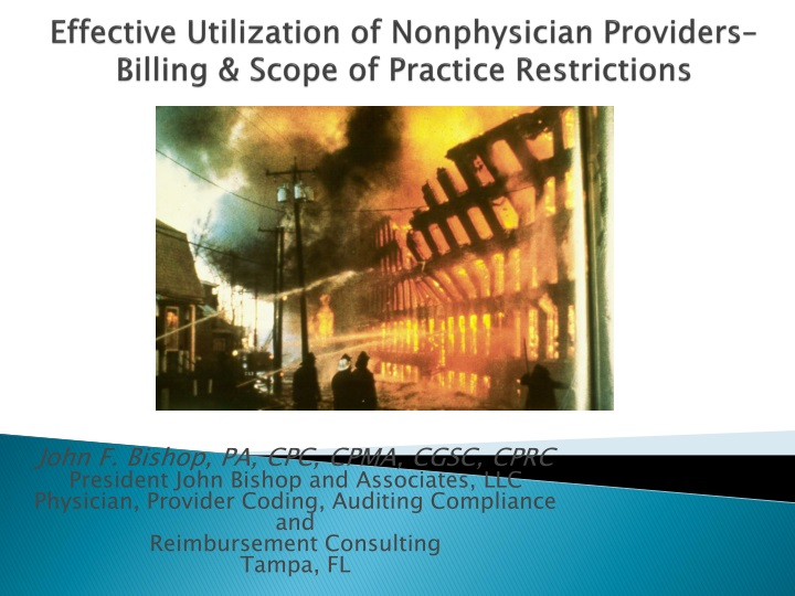 Effective utilization of nonphysician providers billing scope of practice restrictions