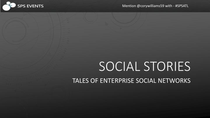 social stories n.