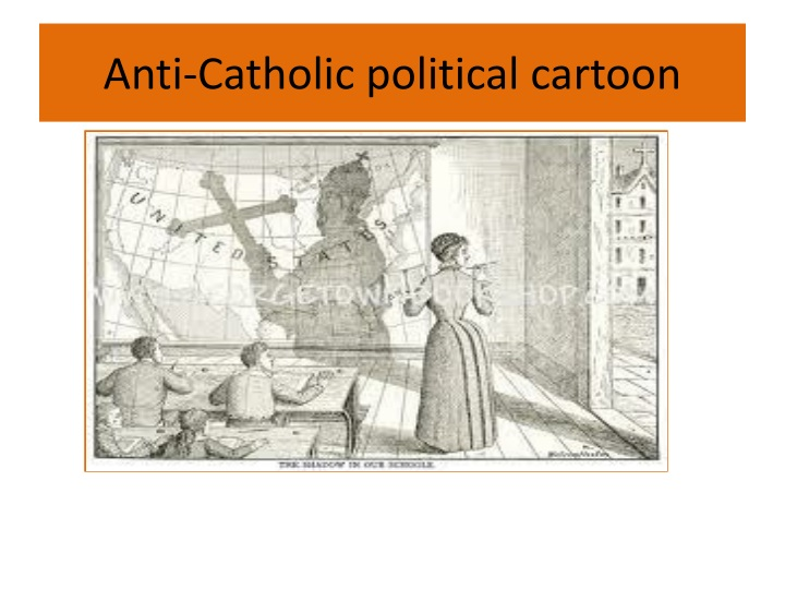 Anti-Catholic political cartoon