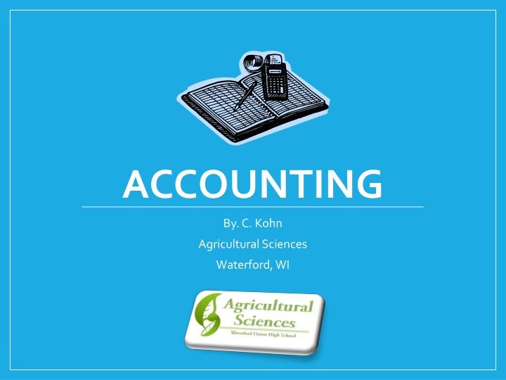 accounting n.