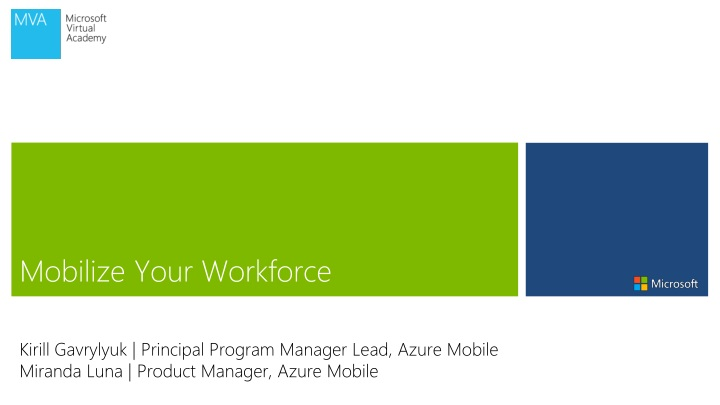mobilize your workforce n.