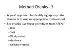 method chunks 3