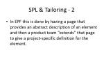 spl tailoring 2