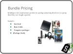 bundle pricing