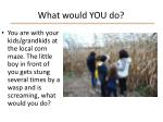 what would you do4