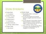 state emblems